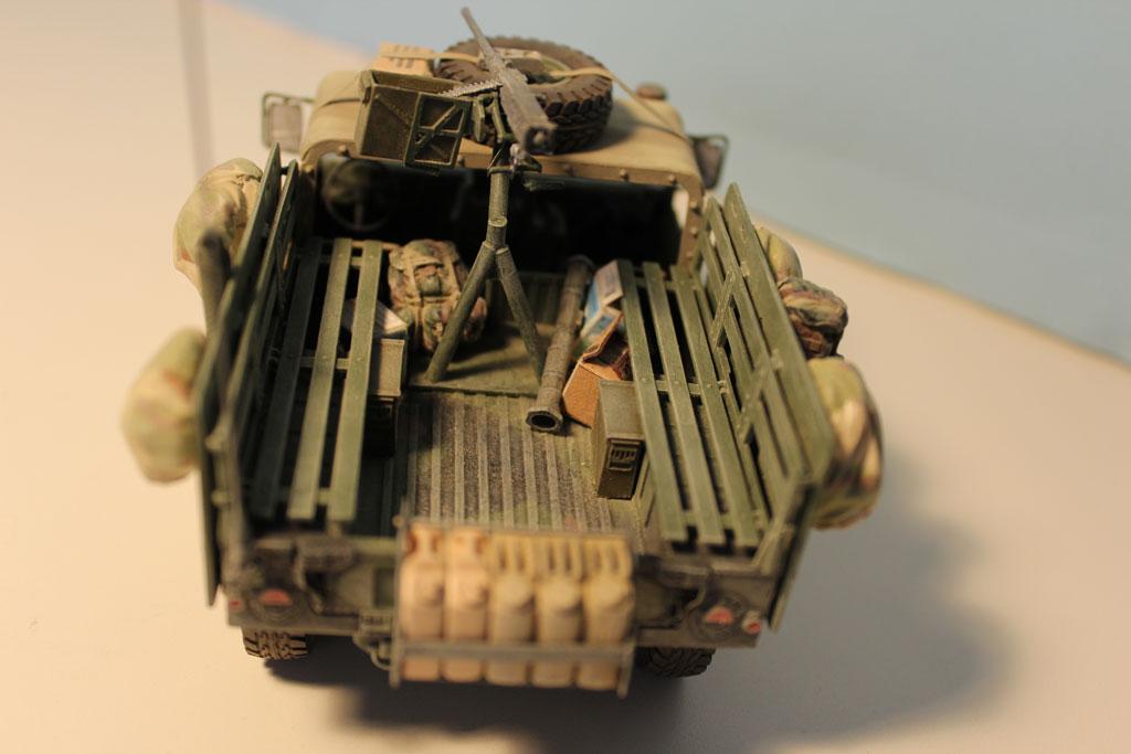 Ettore Galasso Models M998 Ied Gun Truck