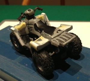 US Special Forces ATV - Work in Progress phase 1