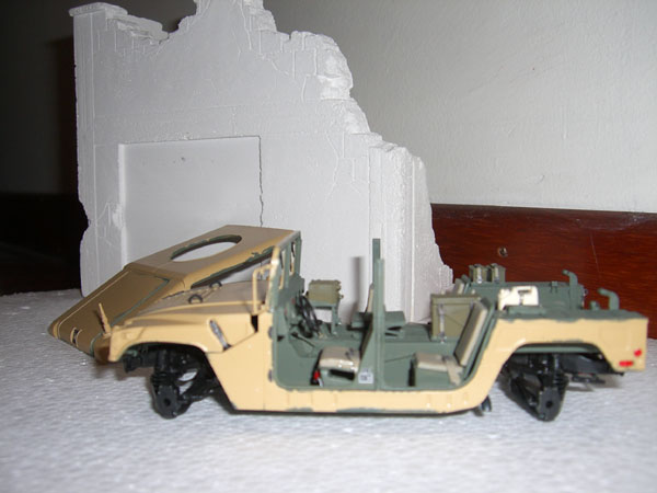 M1025 HMMWV wip1