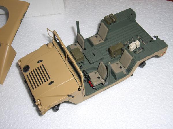 M1025 HMMWV wip3