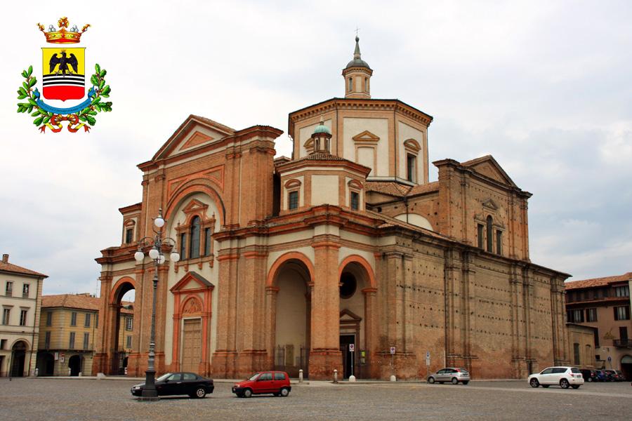 Voghera Duomo e stemma