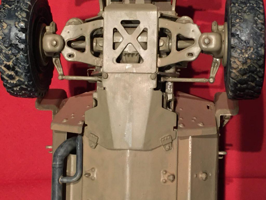 M-ATV under belly shield